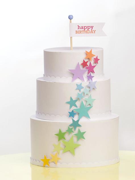 Paper Birthday Cake Lisa Storms
