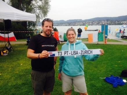Paul & I at the finish