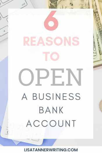 6 reasons you need a business bank account #business #entrepreneurlife