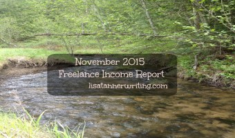 November 2015 Freelance Income Report