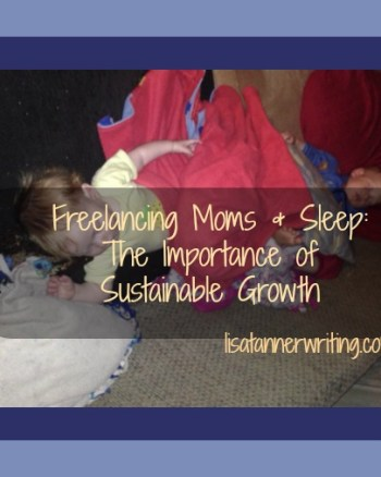 freelancing moms and sleep
