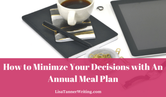 Minimze your decisions with an annual meal plan