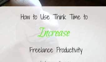 How to Use Think Time to Increase Freelance Productivity