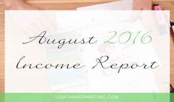 August 2016 Freelance Income Report