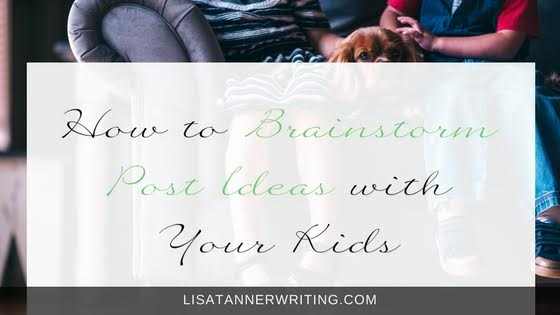Tap into your child's creativity and work together to brainstorm post ideas!