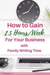 Here's a strategy for finding time to work on your business as a busy mom. #mombosslife #mompreneur
