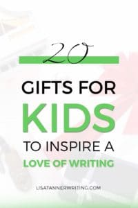 Are you liking for writing gifts for kids? These twenty options will help inspire a love of writing!