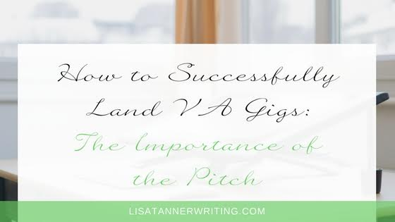 How to Successfully Land VA Gigs: Pitching