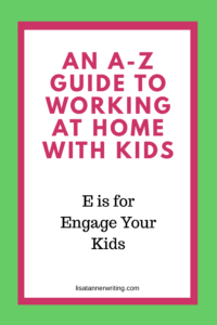 Engage your kids before you start working so you don't end up with unexpected messes and more!