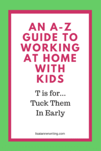 There are definite benefits when you tuck your kids in early. Here's how an early bedtime helped my business.
