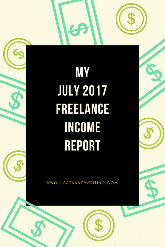 My July 2017 Freelance Income Report