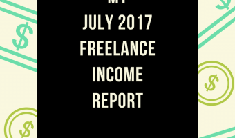 July 2017 Freelance Income Report