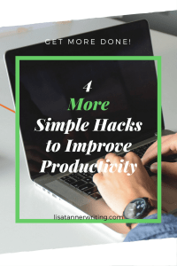 Ready to get more done? Here are four simple solutions I've implemented this summer.