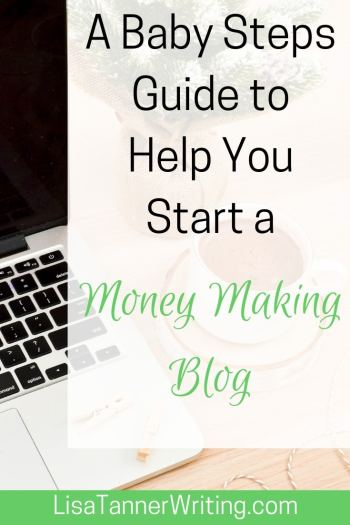 A busy mom's guide to starting a money making blog. #startablog #blogging