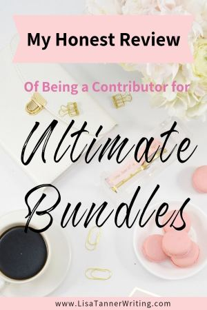 My honest review of being a contributor for Ultimate Bundles