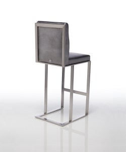 Lobby Stationary Bar Stool by Lisa Taylor Designs