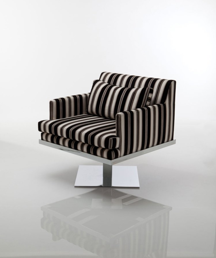 Lobby Swivel Chair by Lisa Taylor Designs