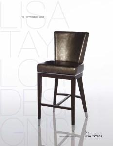 Richmond Bar Stool by Lisa Taylor Designs