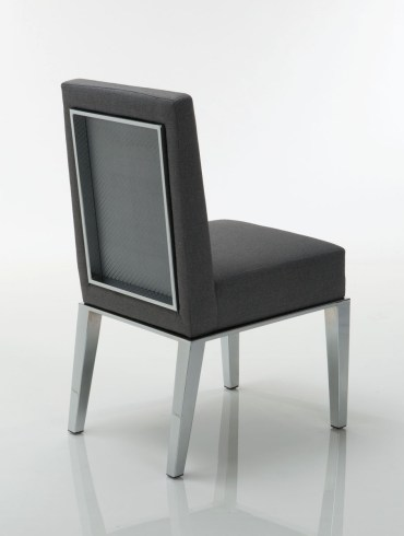 Taylor Steel  Dining Chair by Lisa Taylor Designs