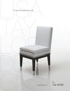 Taylor Wood Steel Dining Chair