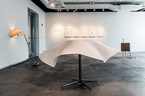 A Bit Over the Top-installation shot