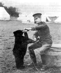 Lt. Harry Colebourn and Winnie