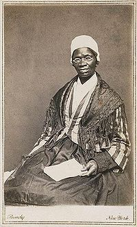 Sojourner Truth (1797-1883), photograph by Mathew Brady c.1864