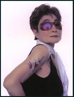Yoko Ono (b. 1933) photo 2002