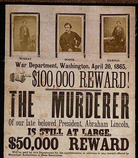 Booth reward poster