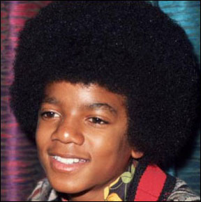 Michael Jackson as a child. Michael died today at age 50.