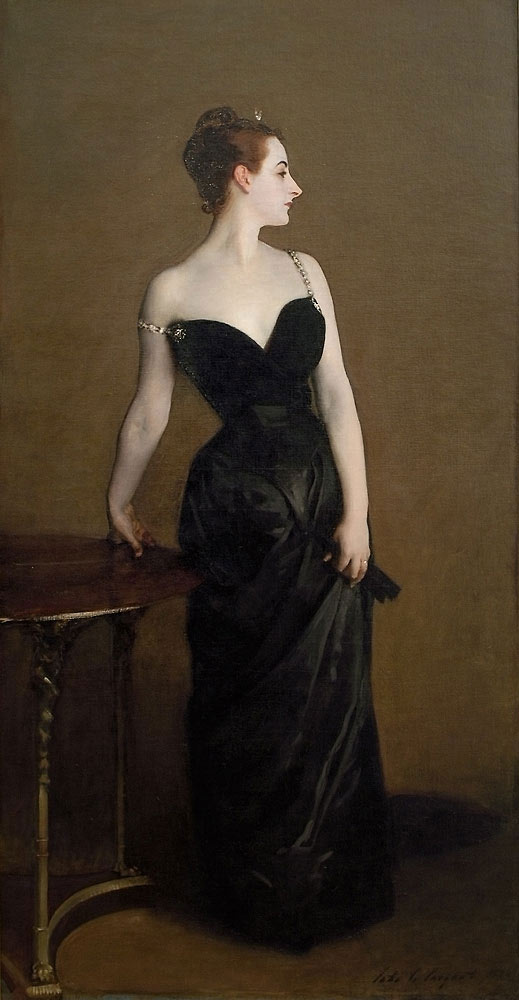 """""""Madame X"""" is shown as it must have originally appeared"""