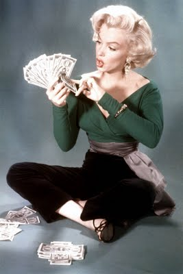 "Marilyn Monroe in ""Gentleman Prefer Blondes"" (1963)"