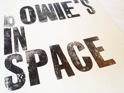 Bowie's in space