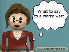 What should you worry about?