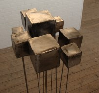 "Grid B Lock in the ""BIB Kunst-schuur"" in Hillegom, Holland, january 12, 2013"