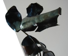 """Diane"", 2007-8, detail, steel"