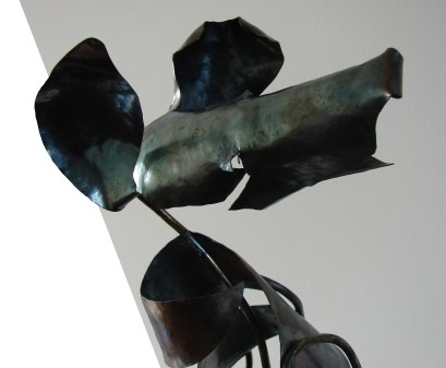 """Diane"", 2007-8, detail, steel"