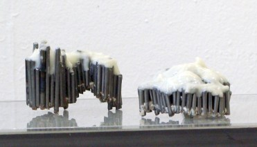 No title, experiment, 2009, steel and two component super glue