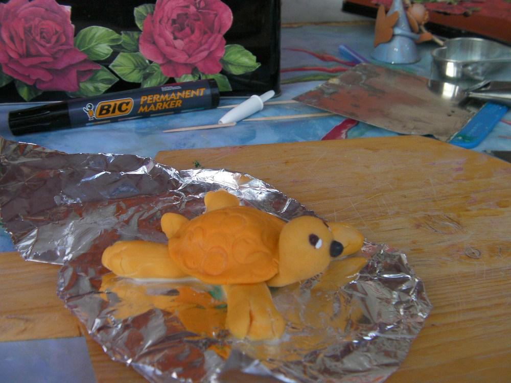 pasta di mais (3): tartaruga e porcellino (3/6)
