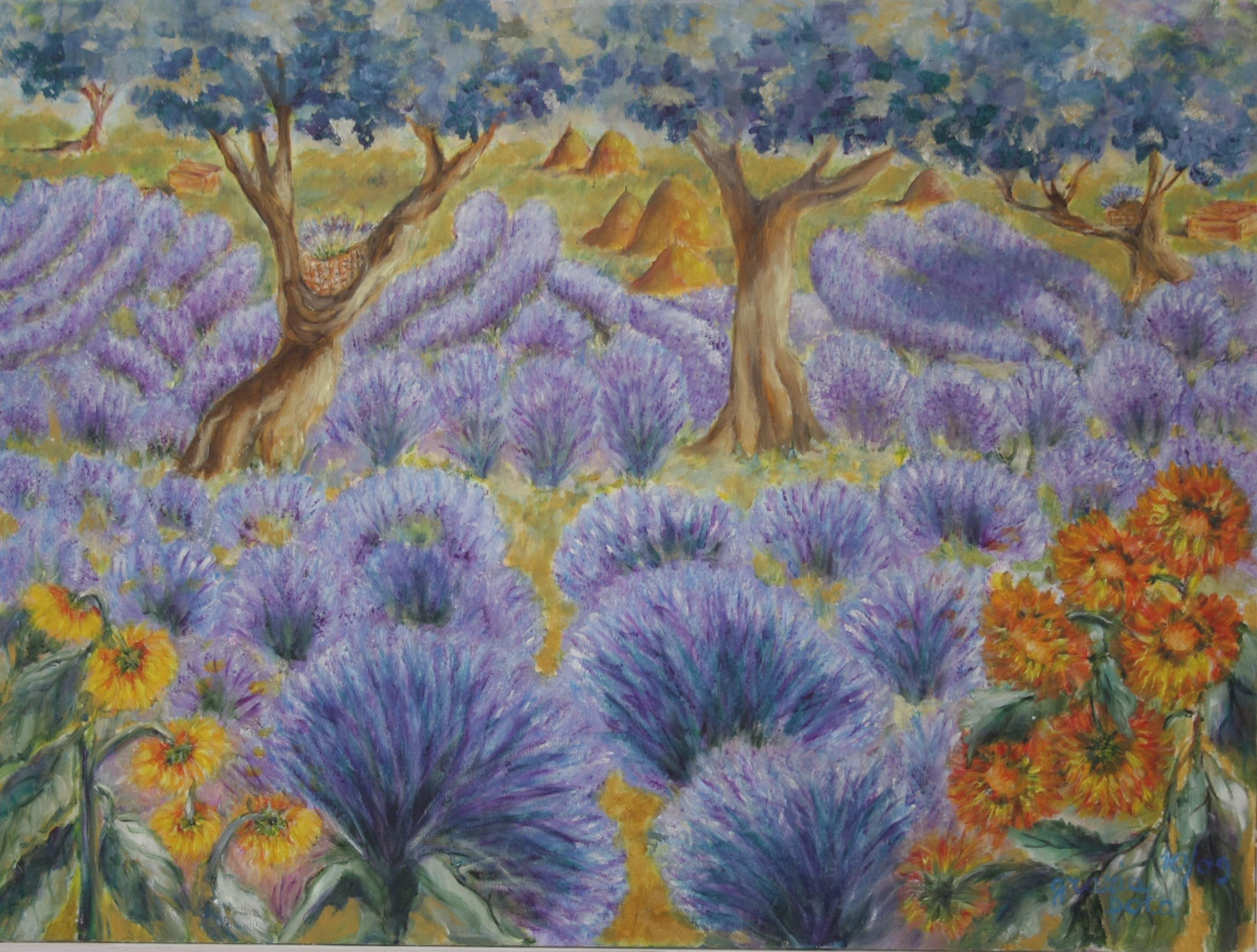 fiori dipinti  lisboantigua
