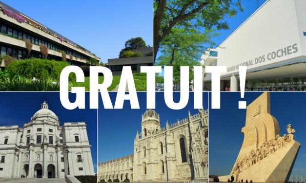 Musées gratuits à Lisbonne