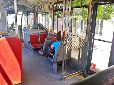 Intérieur bus Carris
