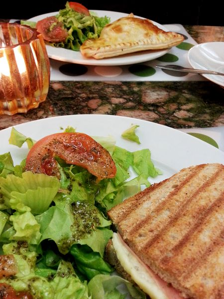 Lunch au Vertigo Café