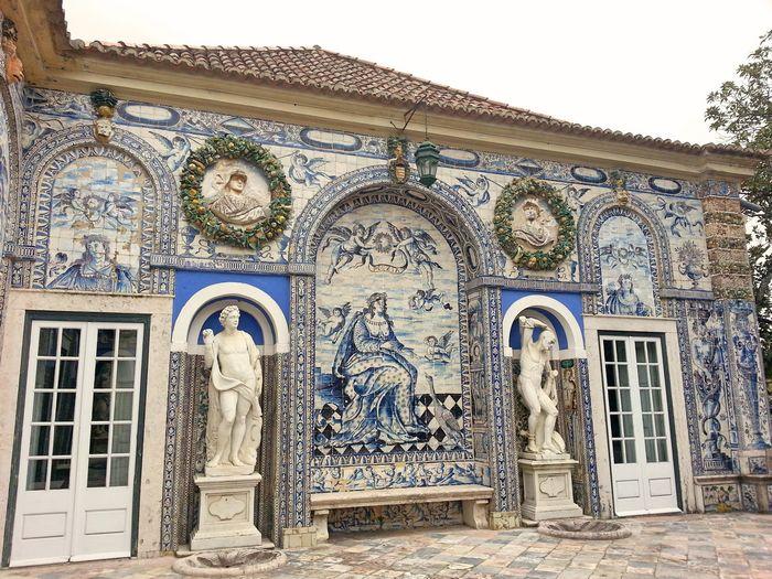 Azulejos terrasse Fronteira