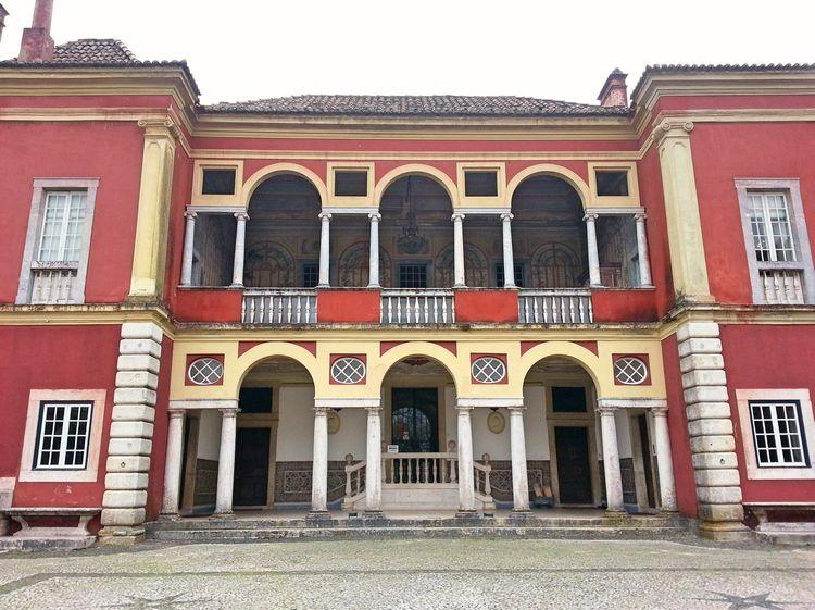 Entrée Palais Fronteira