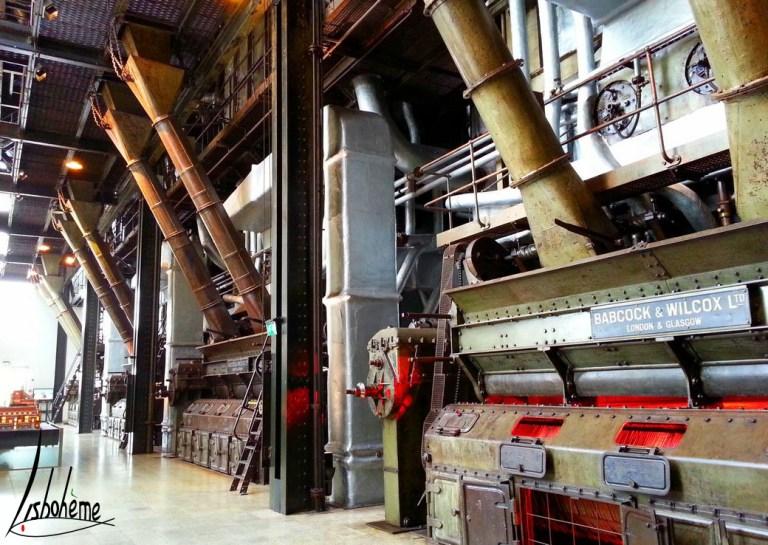 Musée de l'Electricité - salle des chaudières