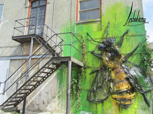 Bee. Bordalo II. Lx_Factory. Mai 2016