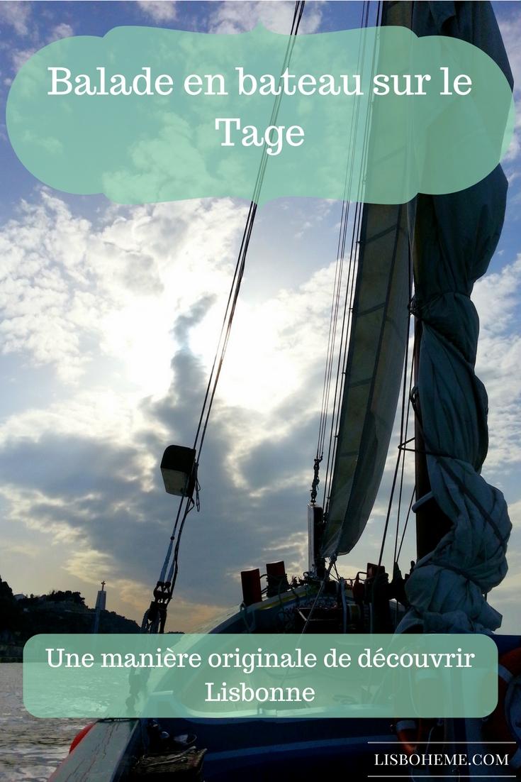 Découvrir Lisbonne depuis le Tage. Une belle balade en bateau et une expérience unique.