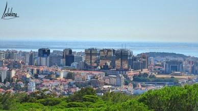 Les Amoreiras et Campolide, deux quartiers de Lisbonne