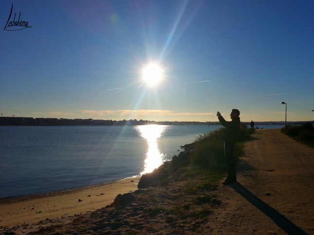 Soleil couchant à Barreiro